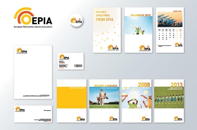Branding for Photovoltaic association EPIA.