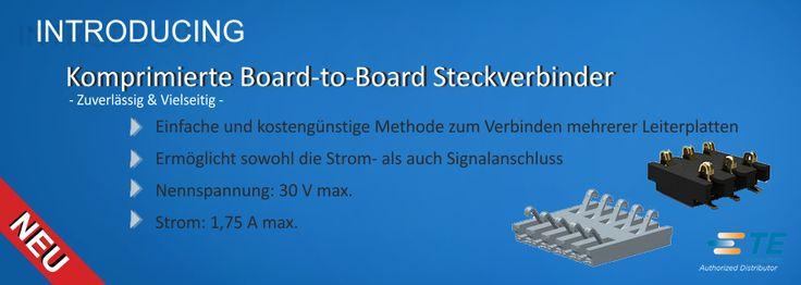 SHC GmbH - Komprimierte Board-to-Board Steckverbinder - Zuverlässig & Vielseitig