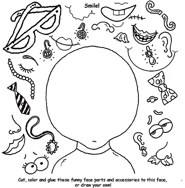 Cute! Students could create a character to write about