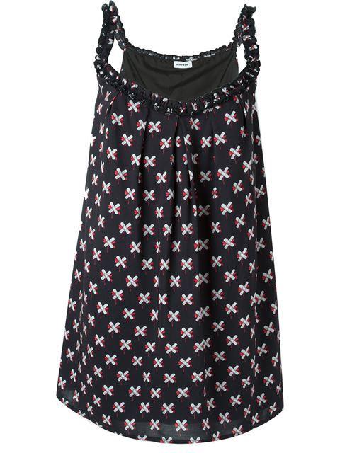 Au Jour Le Jour платье с узором из крестов