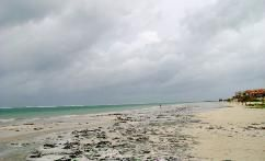 Photos of Puerto Morelos Beach Area Before And After Hurricane Dean August 2007