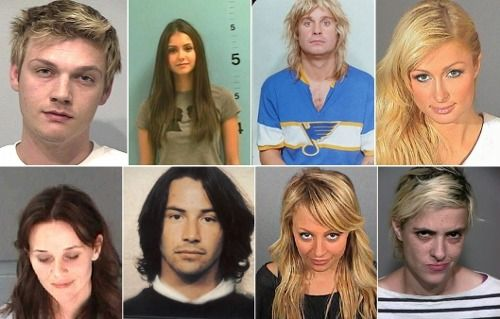 Celebrity Mugshots: Can You ID Them All?