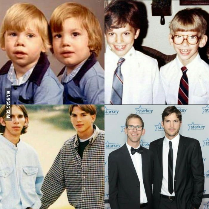 Did You Know That Ashton Kutcher Has A Twin Brother In 2020