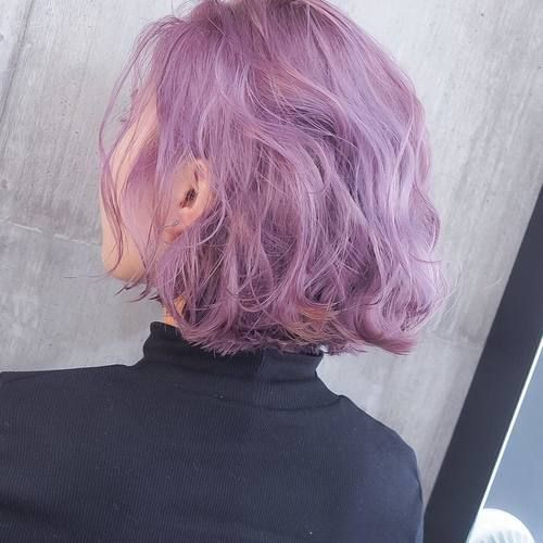 I would dye my whole hair this purple shade if I didn't work in a school :P