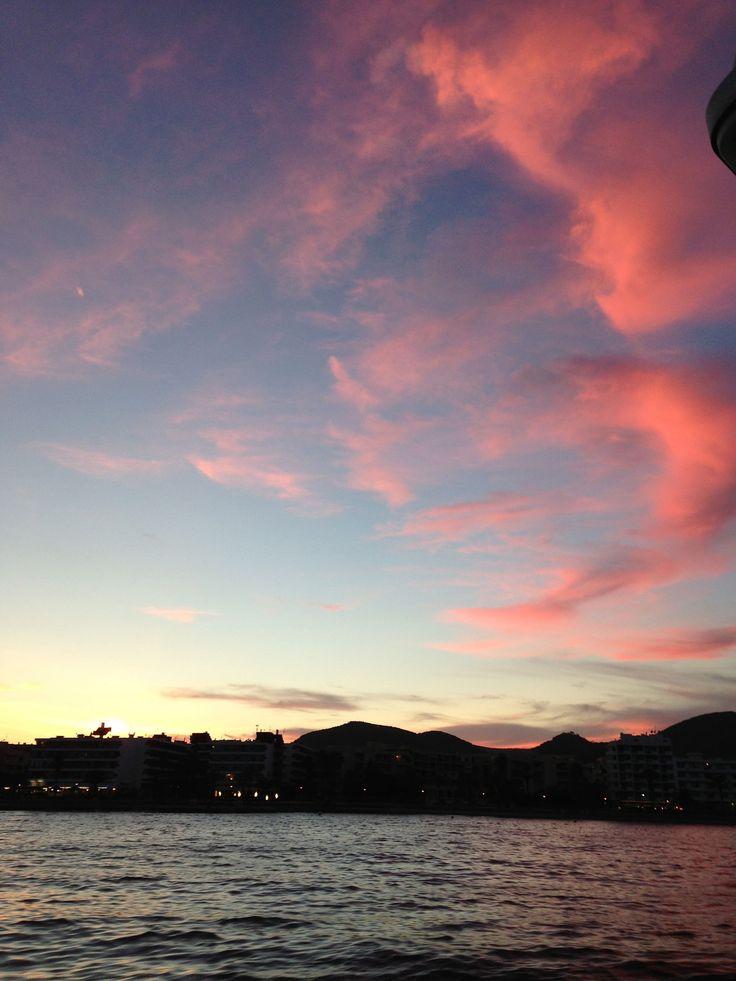 Ibiza sunset! #eivissa #ibiza