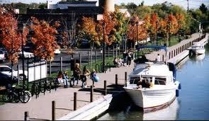 Fairport NY Canal Stop
