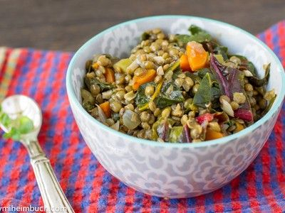 Swiss Chard With Lentils And Feta Cheese Recipes — Dishmaps