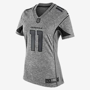 NFL Arizona Cardinals Gridiron Grey (Larry Fitzgerald) Women's Football Alternate Limited Jersey. Nike.com