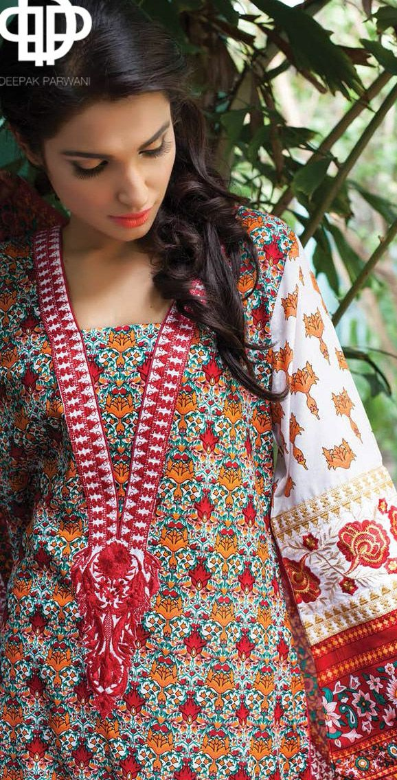 DESIGNER LAWN 2014 Pakistani Indian Dresses Online, Men Women Clothing and Shoes   PakRobe.com
