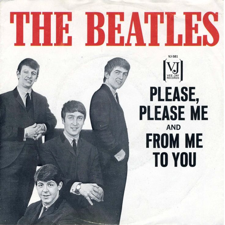 1964-01-30 - Beatles - Please Please Me / From Me To You
