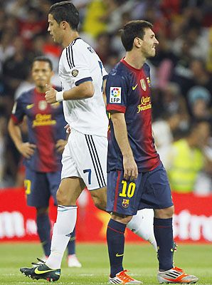 The world's best players, Cristiano Ronaldo and Lionel Messi, will meet again Sunday. #Soccer #Futbol