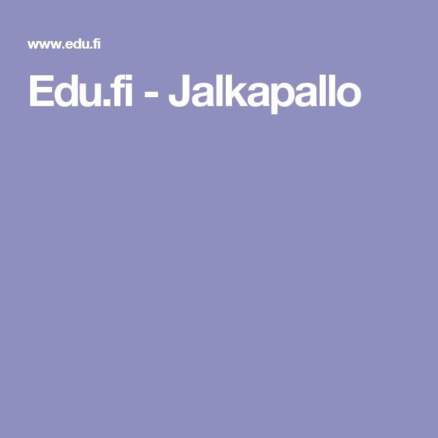 Edu.fi - Jalkapallo