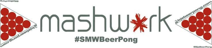 Mashwork custom beer pong table http://megabeerpong.com/custom-beer-pong-tables-for-sale