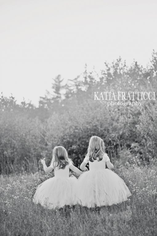 Katia Fratticci Photography New Hampshire, New England, New York City, Long Island Family Photography. Twin Toddlers Tutu Garden Portrait. Amazingly talented, the BEST photographer!