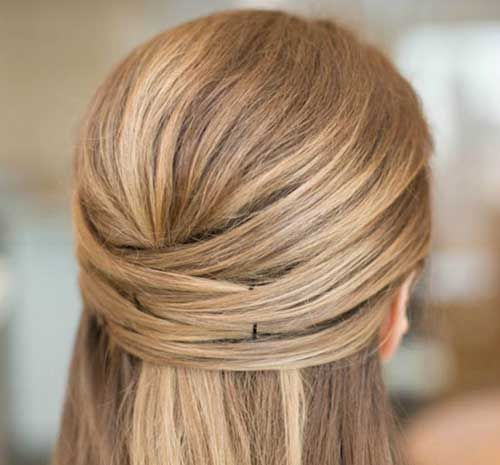 20 Easy Long Hair Updos - Long Hairstyles 2015
