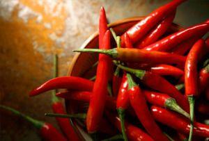 Chilli papričky a zdraví