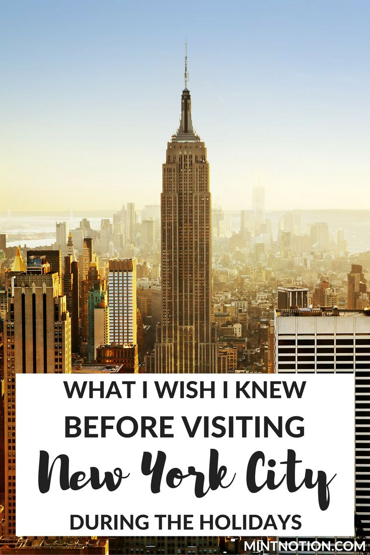New Year's Eve in New York City. Visit NYC on a budget (travel)