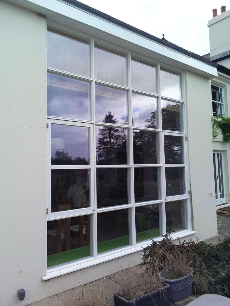 Large @Accoya feature window recently installed for a project in West Sussex #bespoke