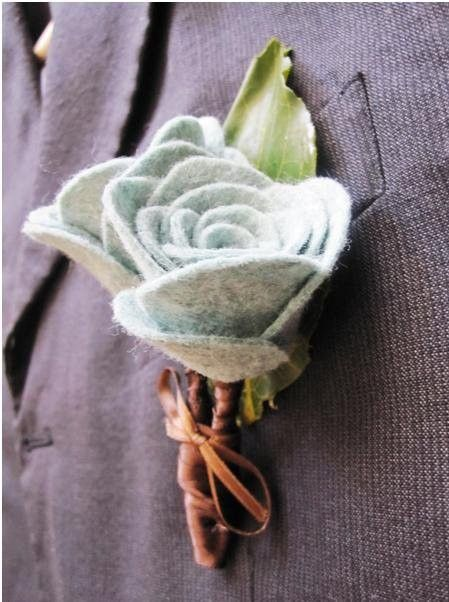 @Beth McCutchen - You're gettin pretty good at this whole fabric flower thing right? Need a project for the 513 boys.... boutonniere