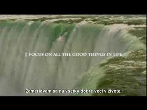 AFIRMÁCIA: Zameriavam sa na všetky dobré veci v živote.
