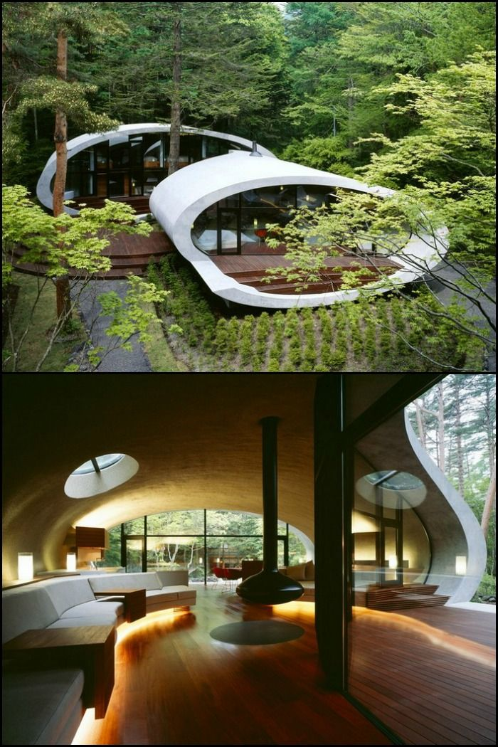 The Shell House in Nagano, Japan is probably unlike any other you have ever seen. Take a tour by heading over to our site!