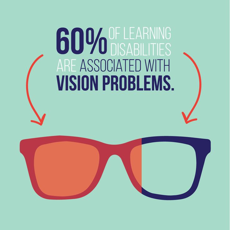 IT'S SIMPLE: when kids can't see clearly, learning is difficult!  Share to raise awareness!