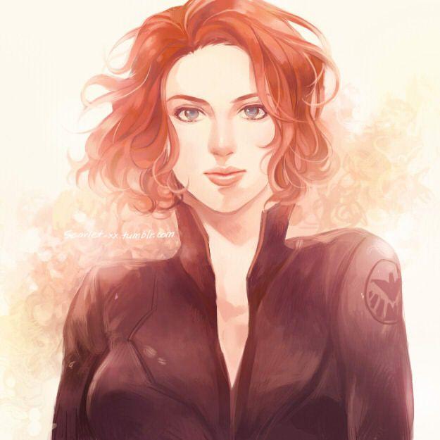 Natasha Romanoff by *scarlet-xx on deviantART