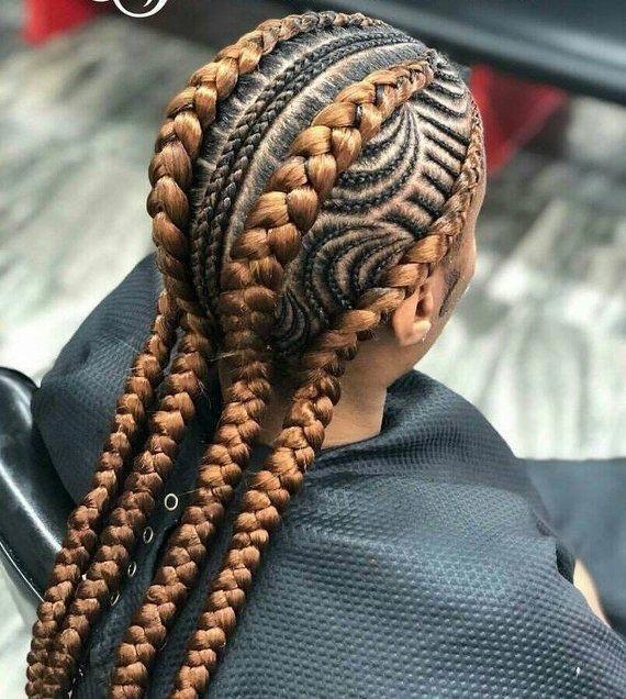 """2019 Ghana Braids Designs und Styles """"Süße Frisuren für klassische Damen"""" – – 20 …   – Braided Styles"""
