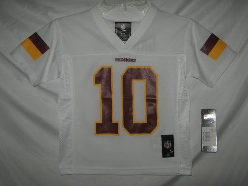 Robert Griffin III Washington Redskins White NFL Kids 2014-15 Season Mid-tier Jersey  https://allstarsportsfan.com/product/robert-griffin-iii-washington-redskins-white-nfl-kids-2014-15-season-mid-tier-jersey/  Officially licensed by NFL 100% Polyester Soft Feel Fabric Silk (Screen) Printed letters, numbers and logos