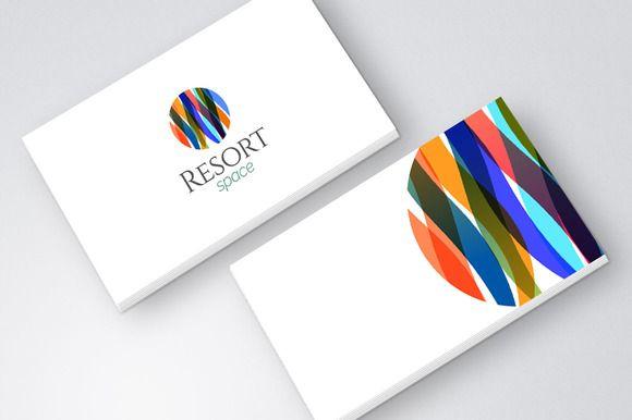 Modern Resort Spa Logo icon ~ Logo Templates on Creative Market