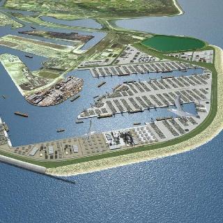 New Harbour in the Sea. Bron:Radio Rijnmond