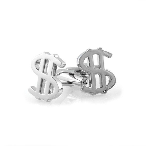 Dollartegn Manchetknapper - 179,00kr