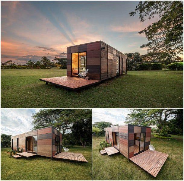 M s de 1000 ideas sobre casas contenedores en pinterest - Viviendas modulares diseno ...