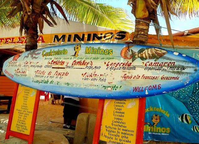 Mininos, one of my favorite Isla restaurants. Their breaded grouper is insanely delicious.