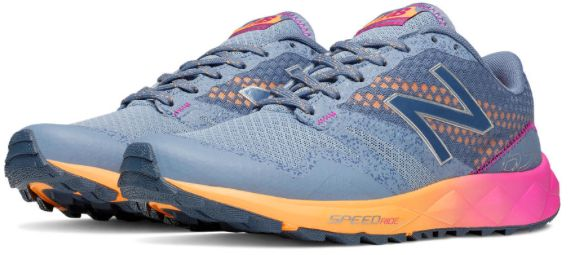 New Balance 690 Trainers: Blaze a new trail. Go off road. Challenge your run. And stand out from the scenery in the all-new women's 690 trail shoe. Neutral cushioned for comfort and rugged enough to tackle any terrain, the 690 combines the trail-ready features you need with the lightweight, natural feel you want to stay ahead of the rest.