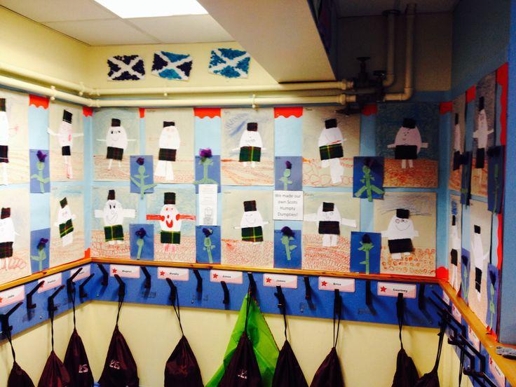 Scottish humpy dumpties, scots language, thistles
