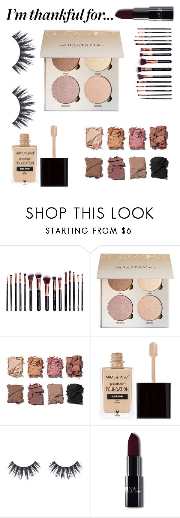 """""""I am Thankful for ..... EVERYTHING!!"""" by nhillseast ❤ liked on Polyvore featuring M.O.T.D Cosmetics, Illamasqua and Wet n Wild"""