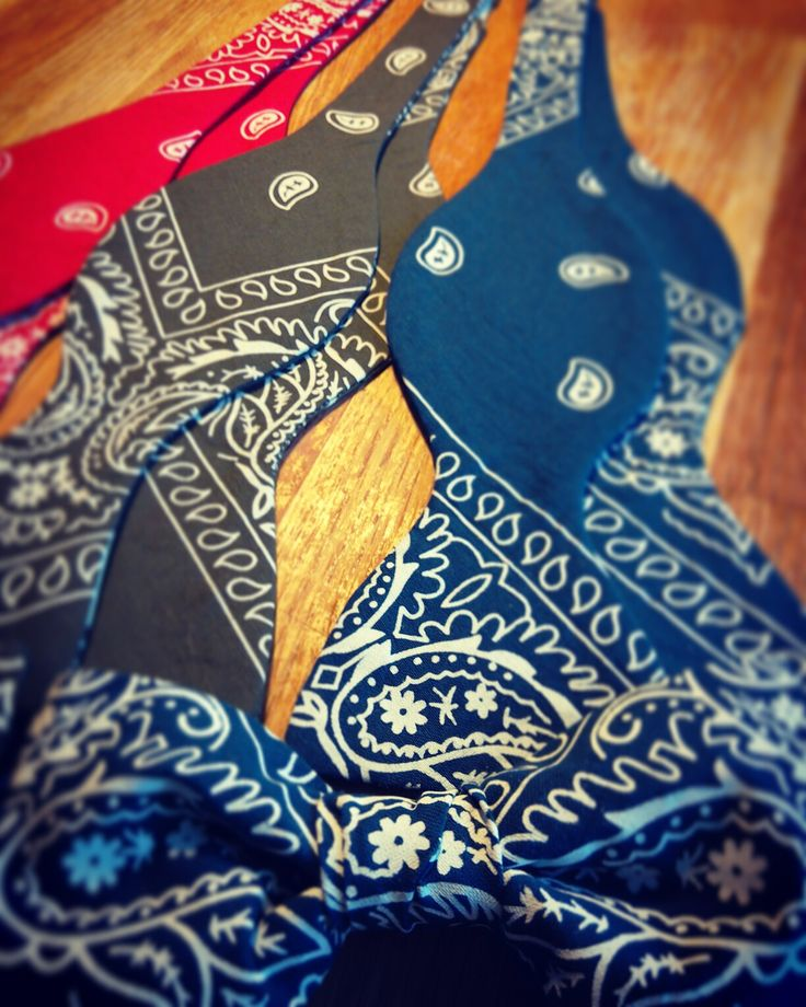 Bandana Bowties #simonsbowties #handmade #bowtie #fashion