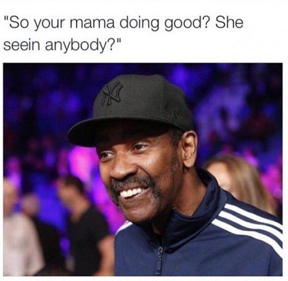 #UncleDenzel: The Internet Had Jokes On Denzel Washington's Outfit At Mayweather Vs. Pacquiao - Denzel Washington Memes - 3 | Vibe