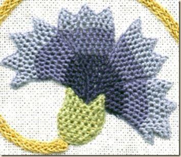 Pretty Elizabethan Embroidery