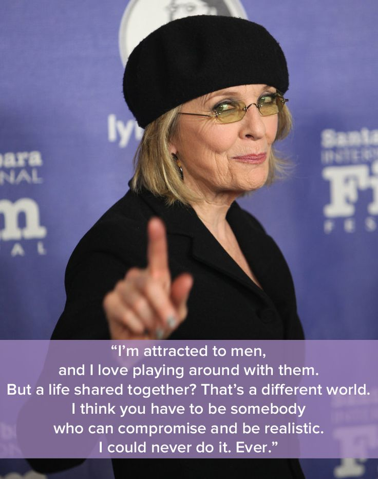 Diane Keaton on why marriage wasn't for her