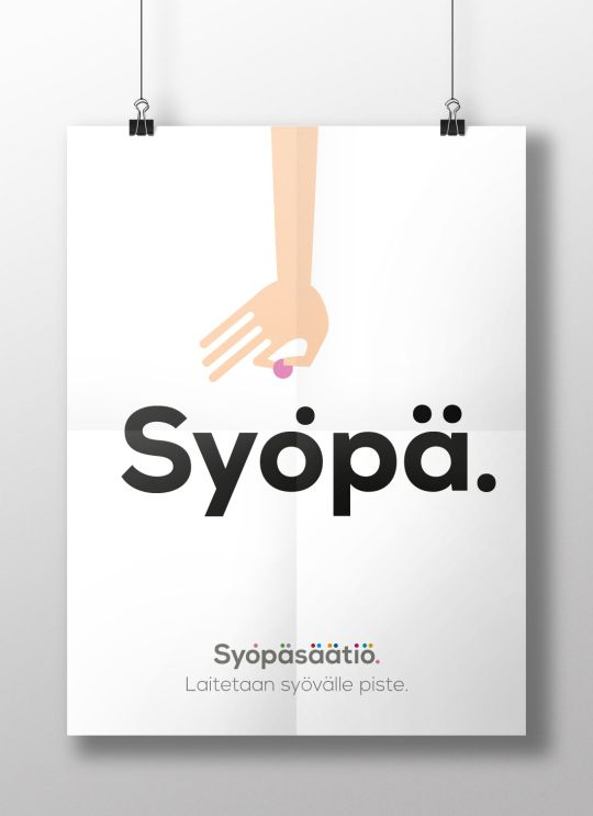 Donate for the work against cancer -poster design