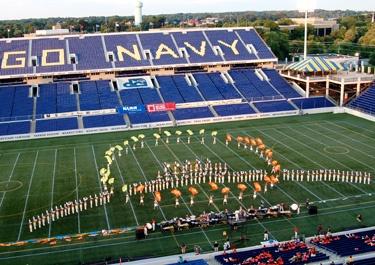 Drum Corps International salutes America. #cadets2