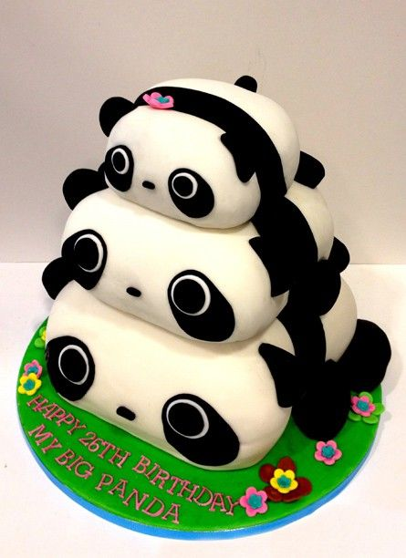panda bear cake template - 14 best panda cakes images on pinterest panda bears