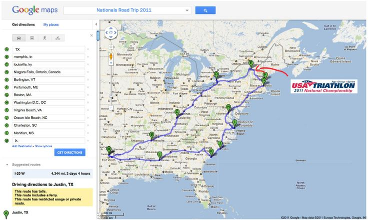 Map Of East Coast Usa Google Maps | CVFLVBP