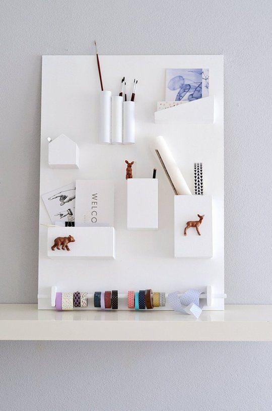 6 Helpful DIY Wall Organizers That Actually Look Good, Too