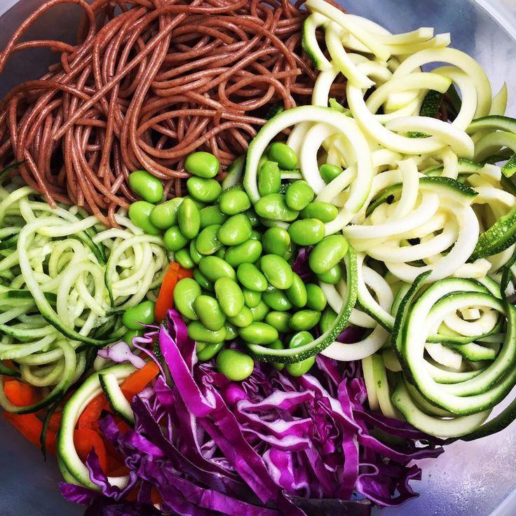 My friend Michelle Ma delicious salad