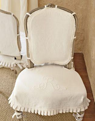 Shabby and Charme: Fodere e rivestimenti per sedie e poltrone