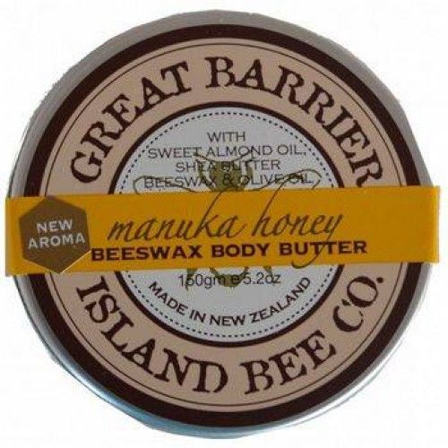 Great Barrier Island Manuka Honey Beeswax Body Butter