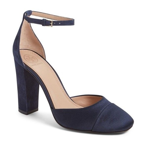 068a9eb1d650 Women s Tory Burch  Rouseau  Ankle Strap Pump ( 375) ❤ liked on Polyvore  featuring shoes